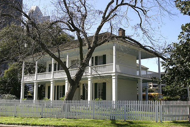 Kellum-Noble House, built in 1847, is the oldest surviving building in Houston.